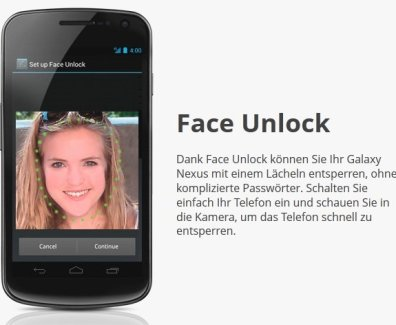 Ice Cream Sandwich – «Face Unlock»