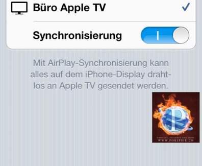 iPhone/iPad Kamera auf dem TV stremmen – AirPlay