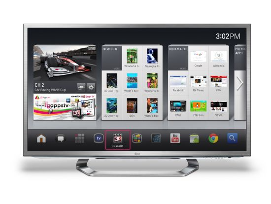 LGs Google TV
