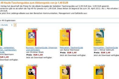 Amazon Kindle - 49 eBook vom Haufe-Verlag für EUR 1.49
