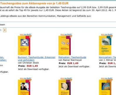 Amazon Kindle – 49 eBook vom Haufe-Verlag für EUR 1.49