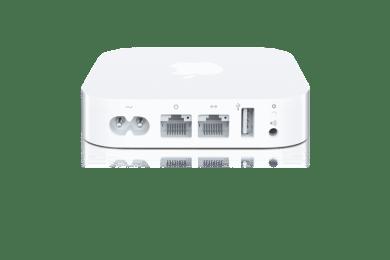 Apple «AirPort Express» neues Design wie eine weisse Apple TV