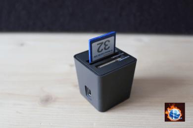 Kompakter Card-Reader «Top-loading» von Elecom im Test - Video