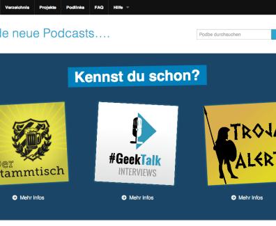 Podbe 3.0 – DAS Podcast Verzeichnis bekommt ein Update