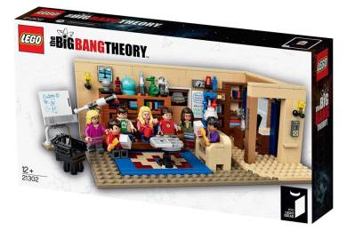 Komplettes LEGO Big Bang Theorie Set