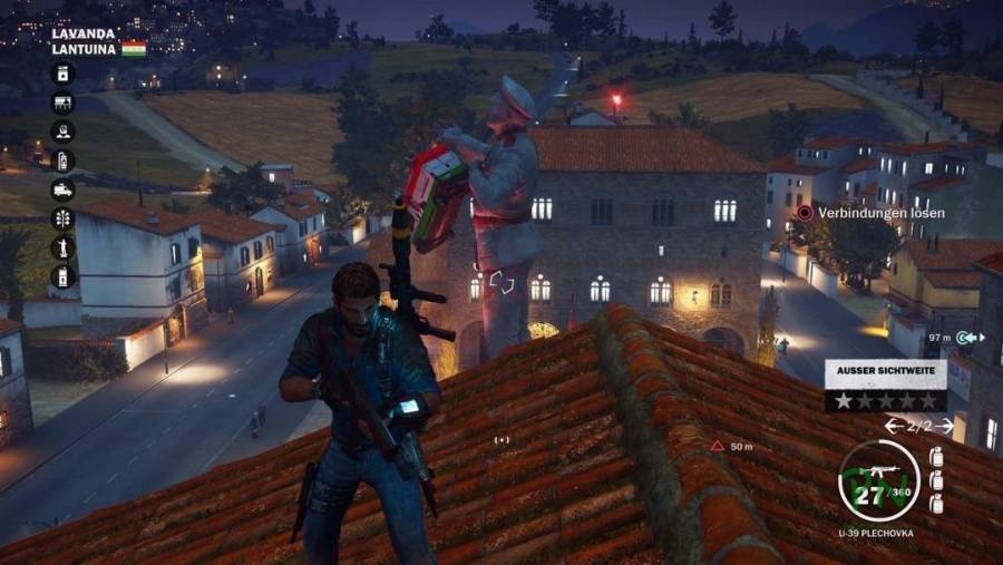 Just Cause 3 - Rumspielen mit dem Grapple Hook