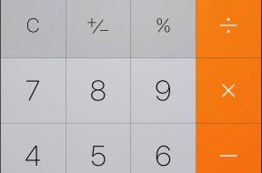 Tipp iPhone Taschenrechner
