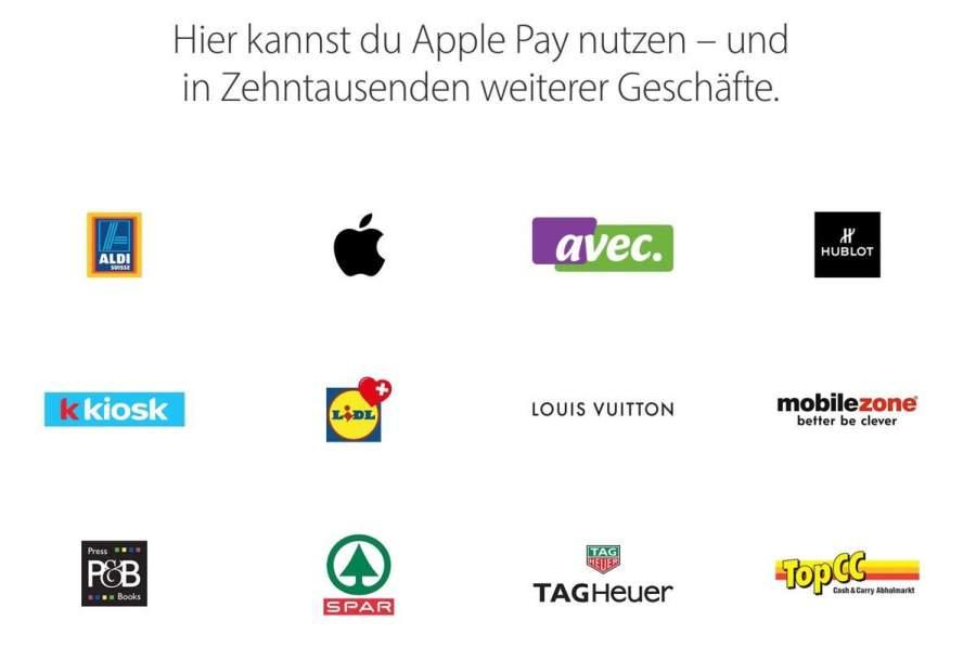 MasterCard bringt Apple Pay in die Schweiz