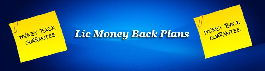 Lic Money Back Plans Image