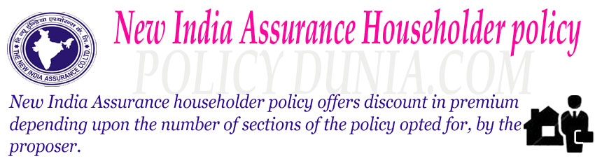 New India Assurance Householder policy Image