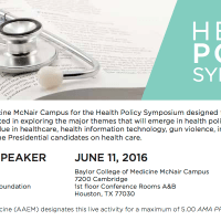 2016 Policy Prescriptions® Symposium