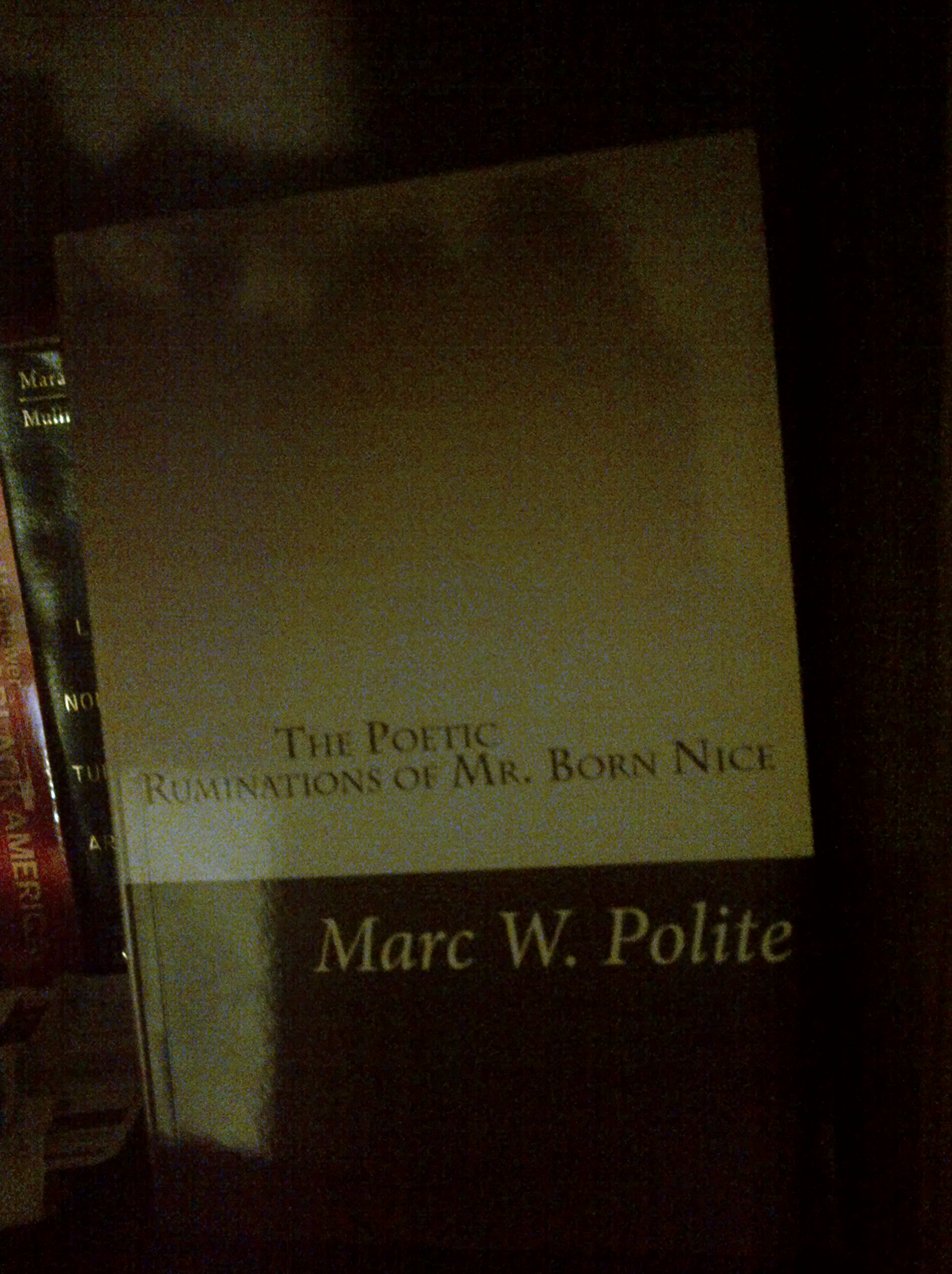 The Poetic Ruminations of Mr. Born Nice- Coming March 2013
