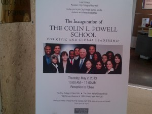 Colin Powell School Inaugural Event