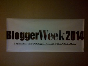 BloggerWeek 2014 Banner