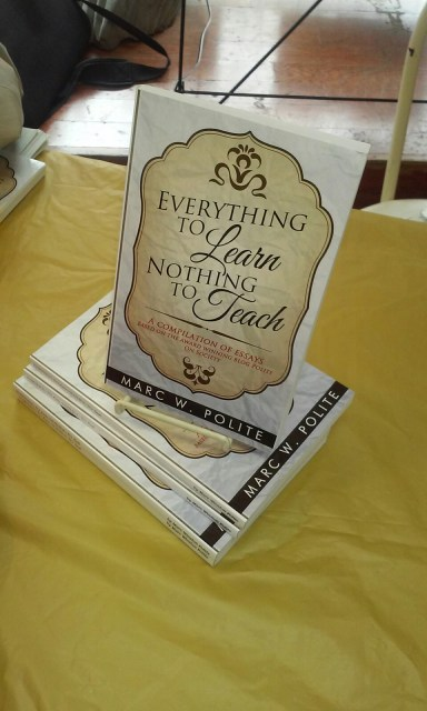 Everything to Learn, Nothing to Teach book cover
