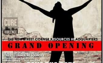 Street Corner Resources Headquarters Grand Opening in Harlem December 8th!