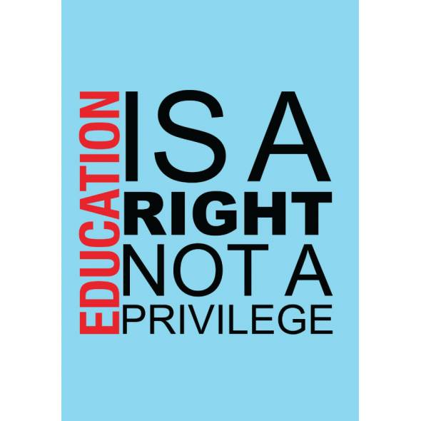 education is a right not a privilege essay Read driving is a privilege, not a right free essay and over 88,000 other research documents driving is a privilege, not a right driving a car and obtaining a valid driver's license is.