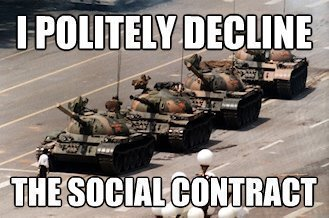 social contract I Politely Decline the Social Contract