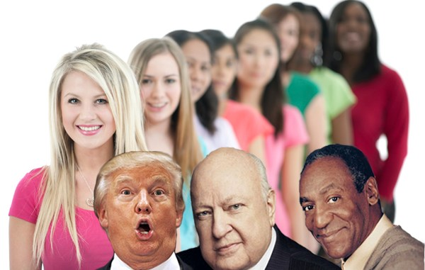 A diverse group of women