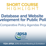Short Course: Database and Website Development for Public Policy