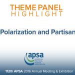 Theme Panel: Affect, Polarization and Partisan Identity