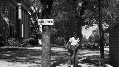 Segregation in the South 1938