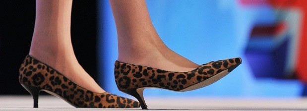 The shoes of British Home Secretary Ther