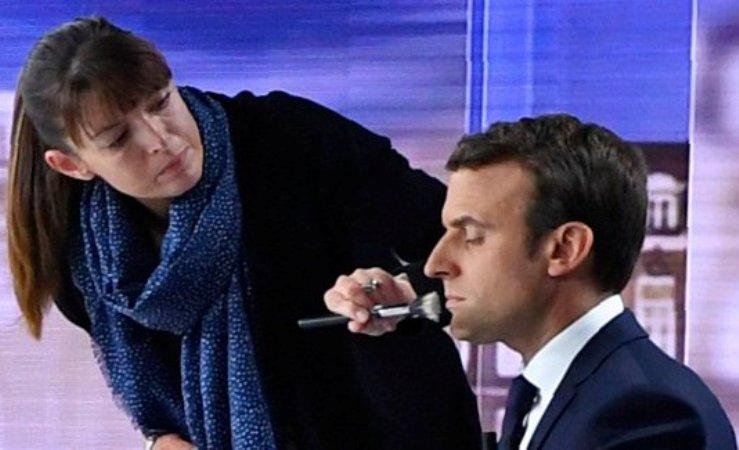 Emmanuel-Macron-makeup-daily-sun