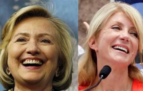 Hillary-Clinton-Wendy-Davis