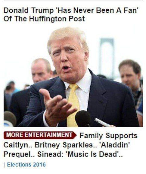 Trump-entertainment