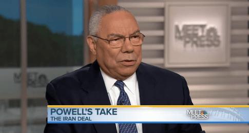 Colin Powell, screen capture NBC