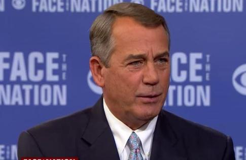 John Boehner Face The Nation