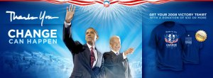 Obama  - Biden Thank you