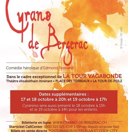Cyrano !!! Supplémentaires les 17-18-19 octobre !!!