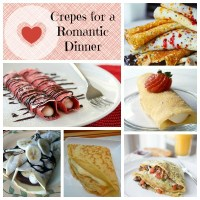 Crepes For A Romantic Dinner