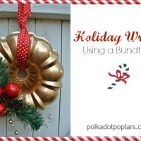 Christmas Bundt Pan Wreath