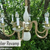 Chandelier Revamp - Upcycle Challenge