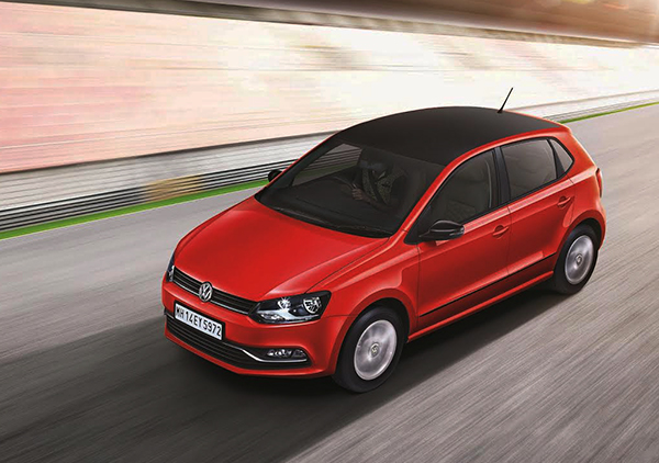 2016 Volkswagen Polo Select (India)