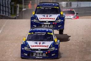 2016 Volkswagen Polo RX, World RX of Latvia: Marklund and Kristoffersson