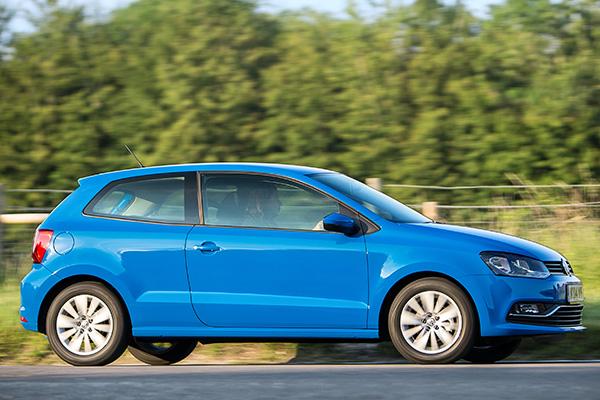 2016 Volkswagen Polo (UK)