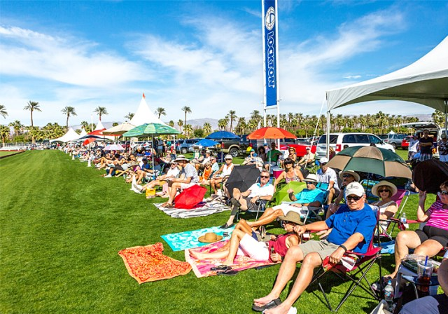 Empire Polo Club Audience