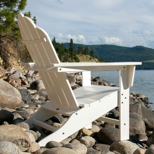 Medium Of Polywood Adirondack Chairs