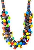 Bohmer's easy dot necklace