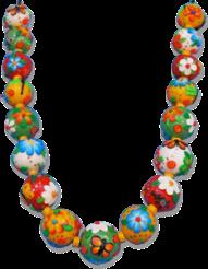 Brandon's Cinco de Mayo polymer necklace