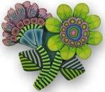 Kim Korringa's flower pin 1
