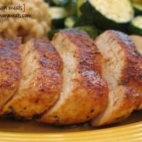 sweet rub roasted chicken