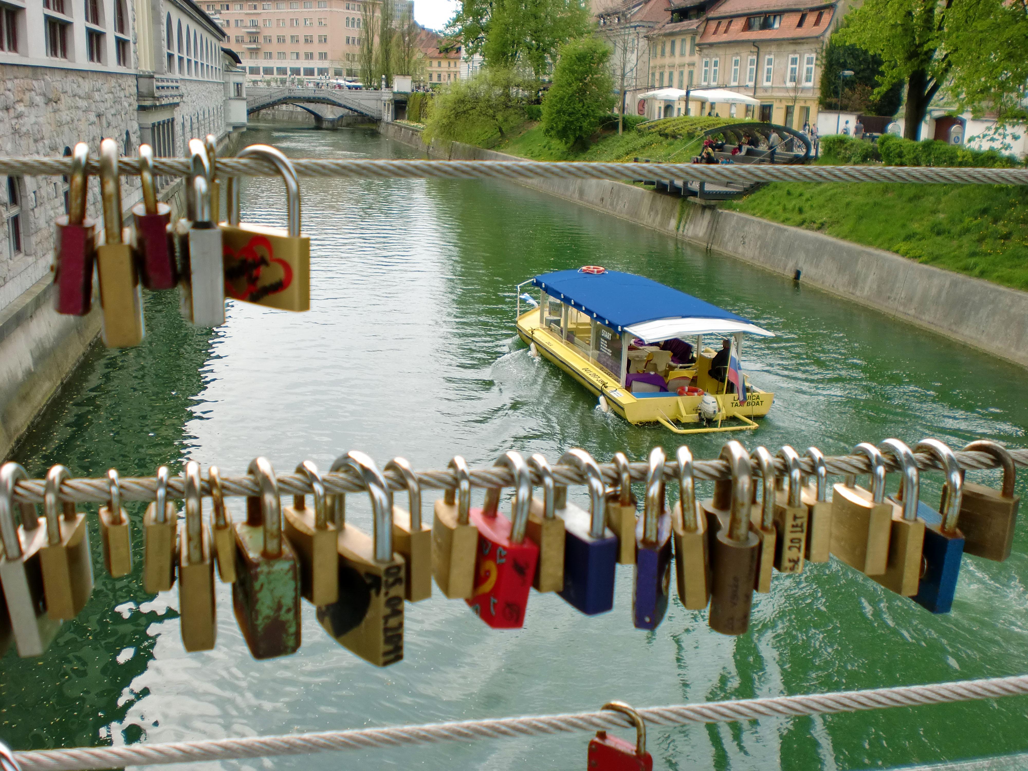 Padlocks Ljubljana River