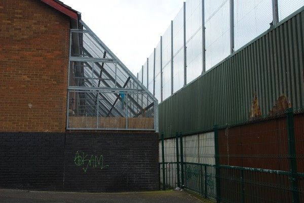 Belfast Peace Wall Housing