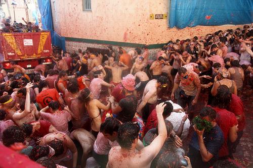 La Tomatina Festival Spain