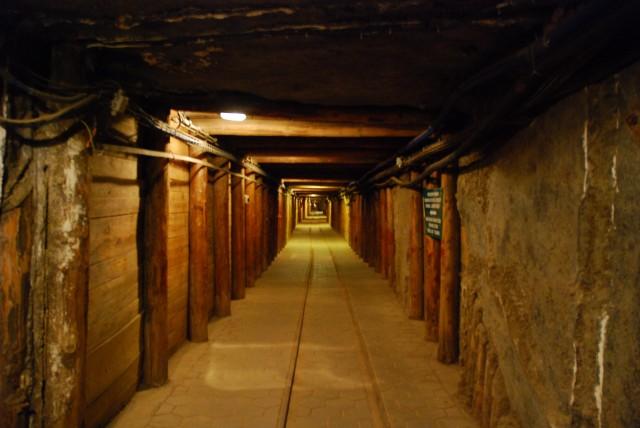 Wieliczka Salt Mine Tunnel